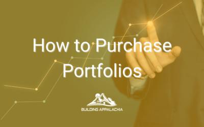 How to Purchase Portfolios